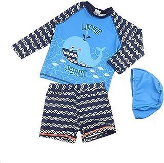 男の子の水着 子供用スプリット水着 小さな男の子、女の子、1-3-6泳ぎのトランク 水着水着 (サイズ : XXXL)