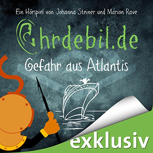 Gefahr aus Atlantis audiobook cover art