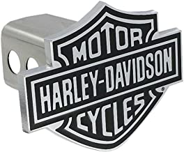HARLEY-DAVIDSON Bar & Shield Trailer Hitch Cover 2'' Stainless Steel HDHC14