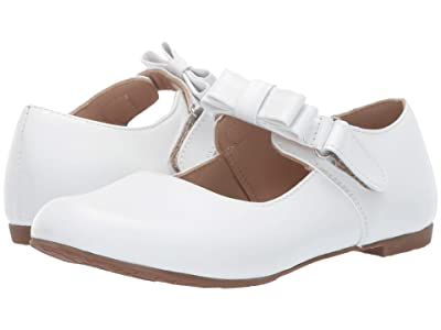 Elephantito Charlotte Mary Jane (Toddler/Little Kid) (White) Girls Shoes