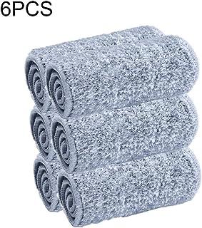 10pcs Mopa de Microfibra Cabecera de Repuesto, Lavable Mopa
