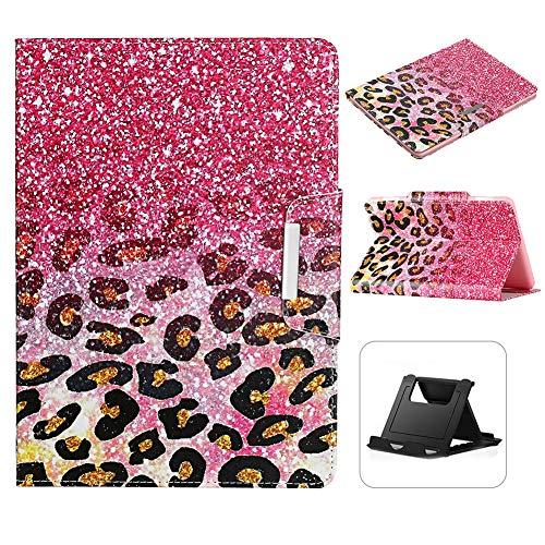 Shinyzone - Funda para tablet Amazon Fire HD 8 2020, diseño de leopardo, color rosa
