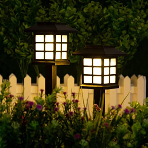 new arrival GIGALUMI 2021 2 Pack discount Solar Path Lights Outdoor outlet online sale