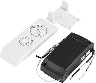 FTVOGUE 4Timing 3velocidades Soporte Universal de Techo para Ventilador lámpara Mando a Distancia inalámbrico Kit
