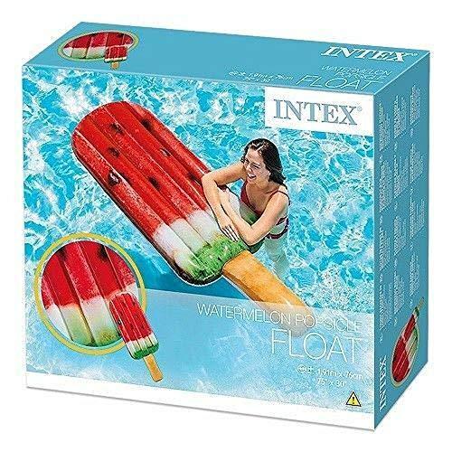 INTEX. Gelato Gonfiabile Materassino per Mare Piscina 191x76 cm 58751