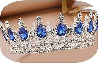 Bridal Crown Crystal Pearls and Rhinestones for Wedding Bridesmaid Tiara Women Birthday Hair Accessories Gift