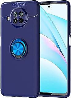 حافظة FanTing لجهاز Xiaomi Mi 10T Lite 5G ، قوس دائري قابل للتعديل 360 درجة ، متوافق مع حامل سيارة مغناطيسي ، غطاء مقاوم ل...