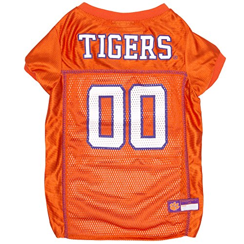 Pets First NCAA CLEMSON TIGERS DOG Jersey, Small (CL-4006-SM)