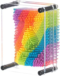 Funtime Gifts ET7580 Rainbow Pin Art, Multi-Colour