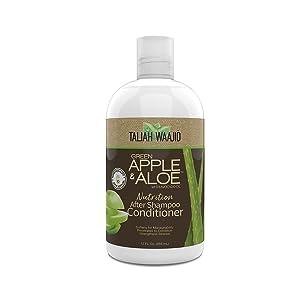 Taliah Waajid Green Apple and Aloe Nutrition After Shampoo Conditioner 12oz (V068)
