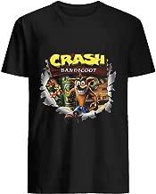 Crash Bandicoot ps1 psx ps4 1996 2017 96 T shirt Hoodie for Men Women Unisex