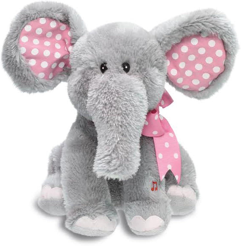 Cuddle Barn Animated Singing Plush Toy  Ellie the Elephant (CB4773)