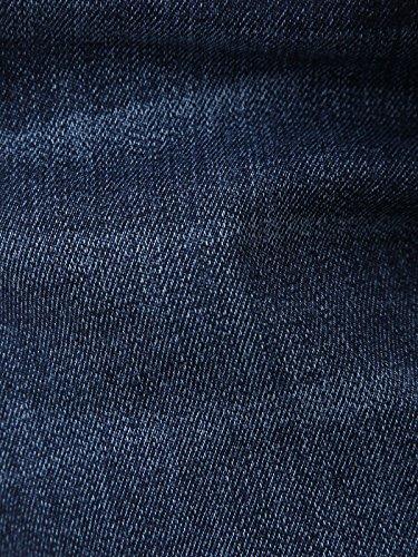 ANGELIEBEエンジェリーベマタニティハイストレッチデニムスカート(2シルエット展開)産前産後妊婦服アジャスター調節可ジーンズS~Mブルーゆったり21790