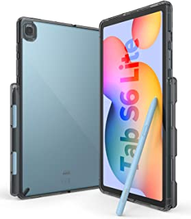 Ringke Fusion Case Designed for Galaxy Tab S6 Lite (2020) Shock Proof Tablet Back Cover Built-in Stylus S Pen Holder - Smo...