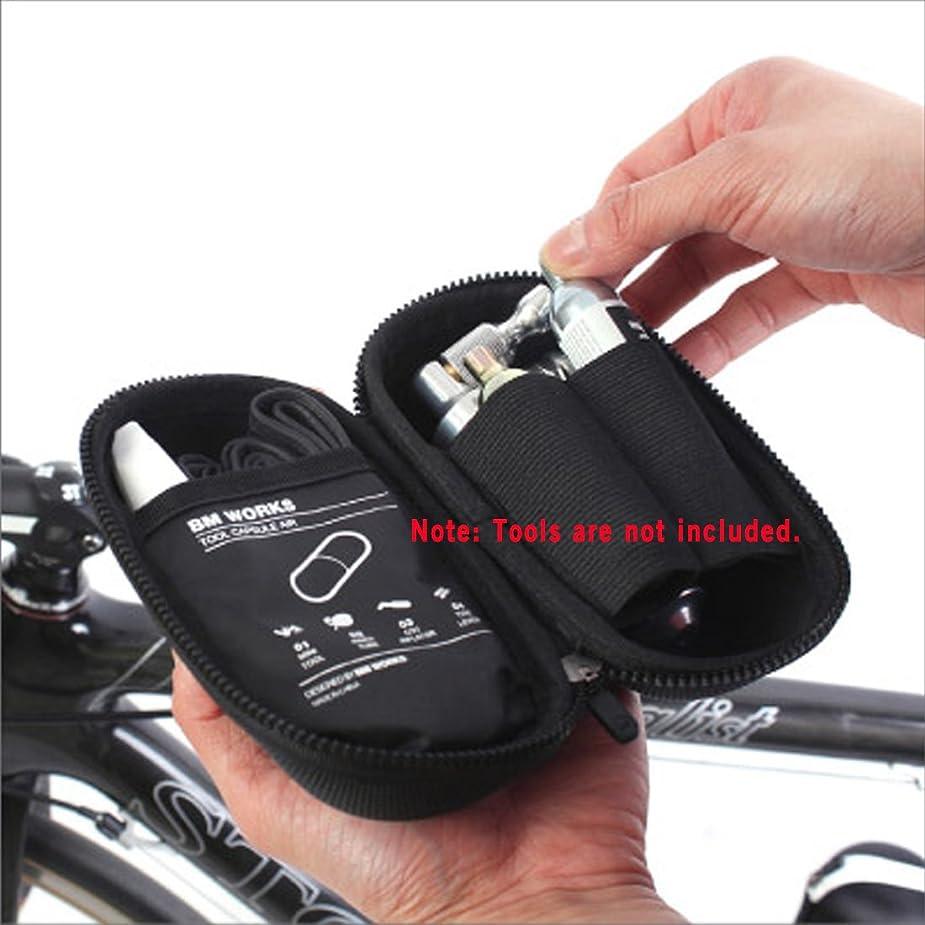 島無秩序発症BM WORKS カプセルタイプ自転車ツールバッグ