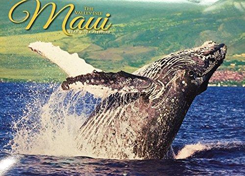 Maui The Valley Isle Hawaii Calendar 2017 - Hawaii island scenes - beautiful Hawaiian photographs