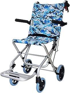 Wheelchairs Ultra Lightweight Transport Chair Medical Assistance Elderly, Disabled, Rehabilitation Patient Nursing Cart,Travel Wheelchair Foldable