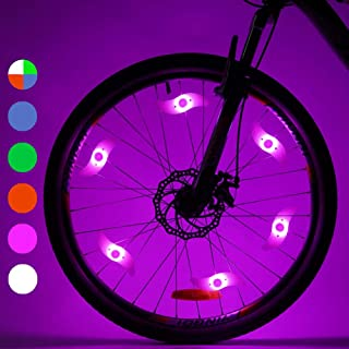 LEBOLIKE Bike Spoke Lights Cycling Bike Wheel Lights for...