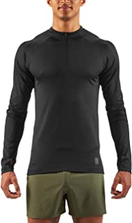 SKINS Men's Trooper Midlayer Long Sleeve Fleece 1/2 Zip