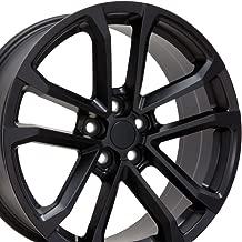OE Wheels 20 Inch Fits Chevy Camaro ZL1 Style CV19 Satin Black 20x8.5 Rim Hollander 5547