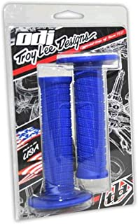 Troy Lee Designs ODI MX Motocross Motorcycle Hand Grips - Blue/One Size