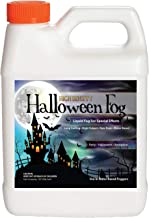 Sanco Industries High Density Halloween Fog Juice - Extraordinarily Long Lasting, High Output, Water Based Fog Machine Fluid - 1 Quart, 32 Ounces