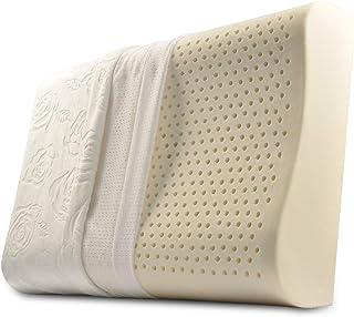 VERCART Coussin de Lecture Oreiller Wedge Pillow Confortable Cale Nuque Ergonomique Orthopedique Triangulaire du Chevet Tête Lit Canapé Banc Déhoussable Soulager des Maladies Lombaires Dos 60cm Orange