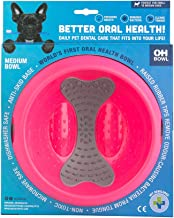 Oh Bowl The World's First Dog Bowl with a Tongue Cleaner,
