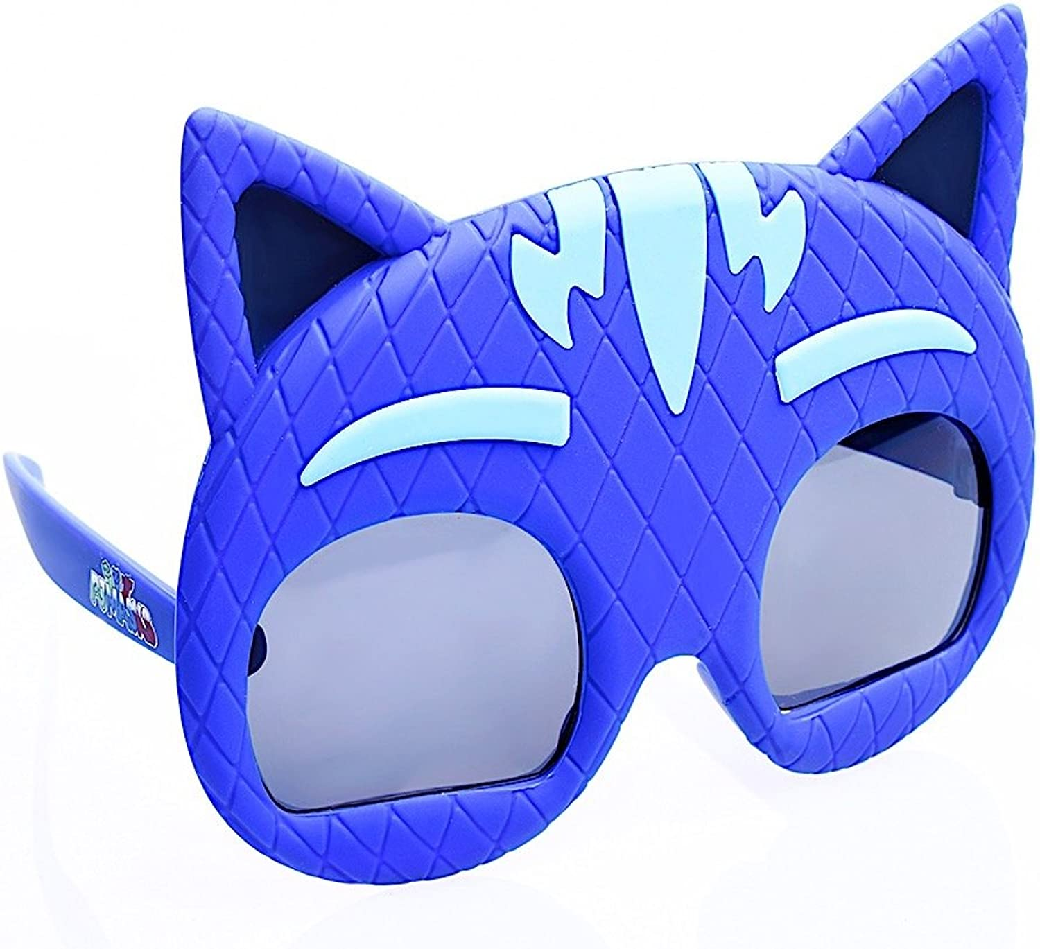 Sunstaches Lil' Characters PJ Masks Catboy Kids Character Sunglasses, Party Favors, UV400