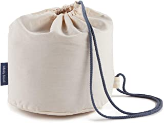 Huzi - Travel Cotton Case Bag Sleeve for Infinity Pillow
