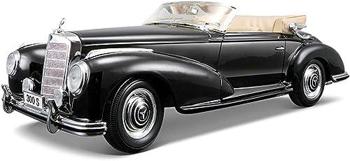 RENJUN Modèle de Voiture 1 18 Mercedes Benz modèle de Voiture 300S Alliage de Simulation de Moulage sous Pression Jouet OrneHommests Collection de Voitures de Sport Bijoux 26x10.7x7.9CM