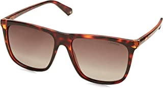 POLAROID Unisex Sunglasses Square PLD 6099/S - Dkhavana