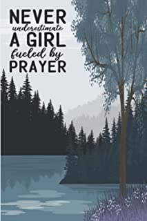 Prayer Journal for women and girls A Christian Devotion for Praise, Gratitude, and Reflection: Today's Scripture or Quote