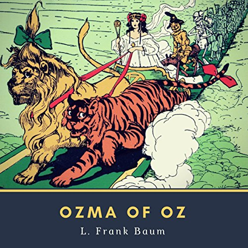 Ozma of Oz cover art