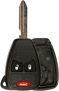 KeylessOption Just the Case Keyless Entry Remote Control Car Key Fob Shell Replacement for OHT692427AA