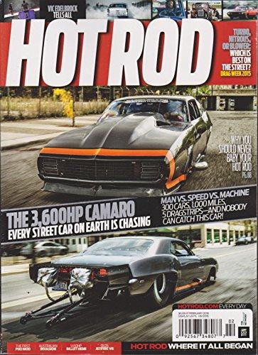 Hot Rod Magazine February 2016