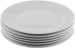 Amuse- Professional Gourmet Porcelain Dinner Plate- Set of 6 (Dinner Plate)