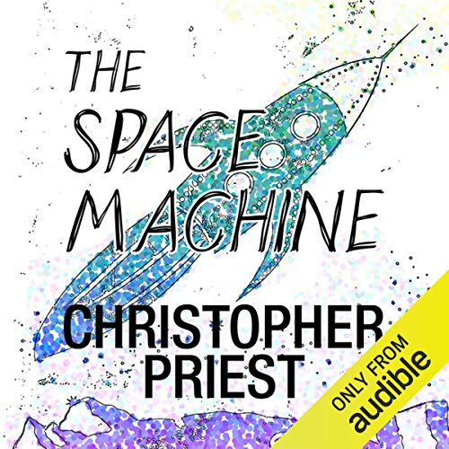 The Space Machine audiobook cover art