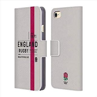 ENGLAND RUGBY ラグビーイングランド (150th Anniversary) - Since 1871 レザー手帳型/iPhoneケース 【公式/オフィシャル】