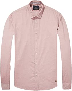 Scotch & Soda Men's Classic Oxford Shirt in Solids or with All-Over Print