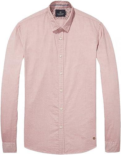Scotch & Soda Oxford Weave Shirt   Slim Fit Chemise Affaires Homme