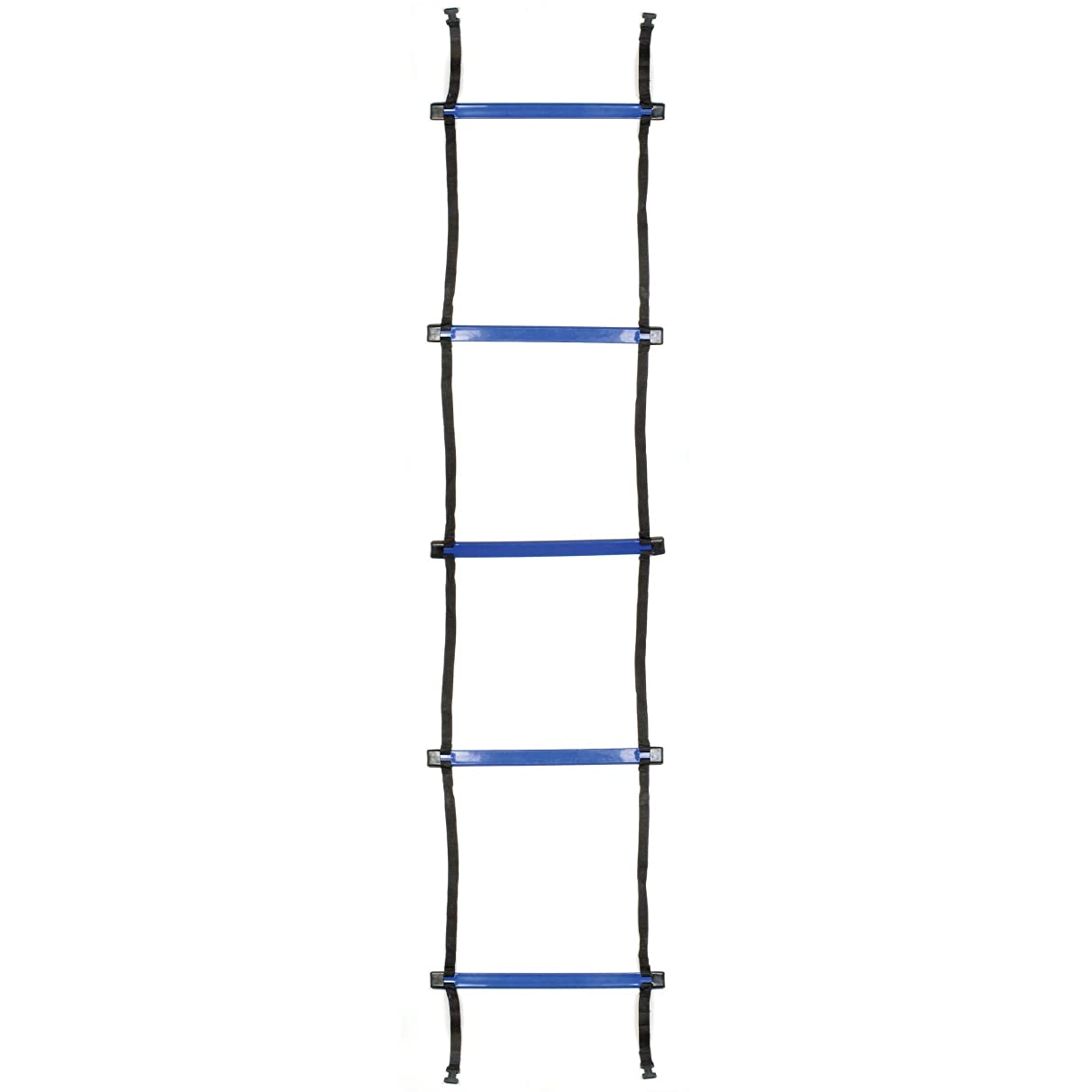Champion Sports Sectioned Agility Ladder Set, Red/Yellow/Blue/Green, 6.5