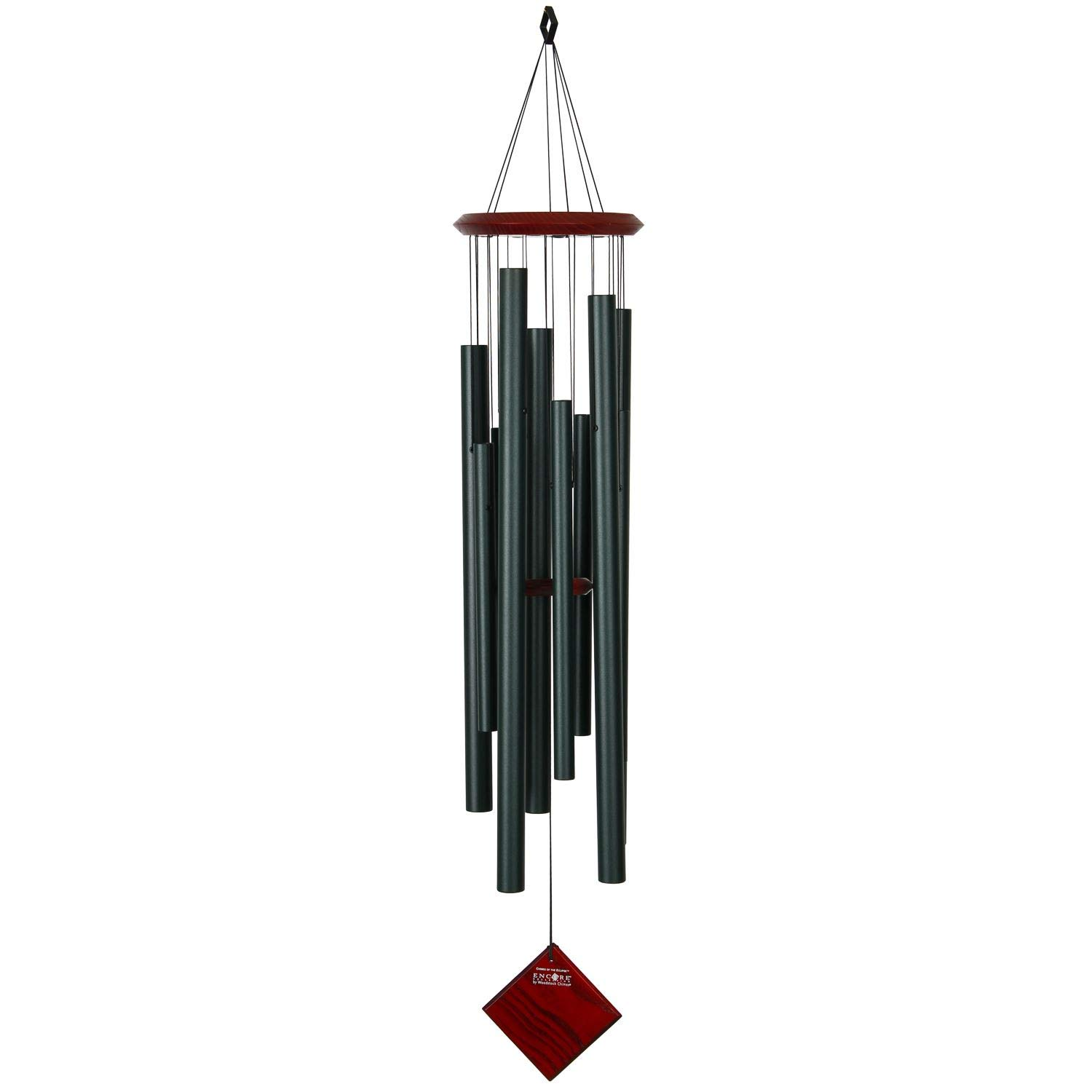 Woodstock Pacific Blue Bells of Paradise Large Chimes Outdoor Garden Wind Chime