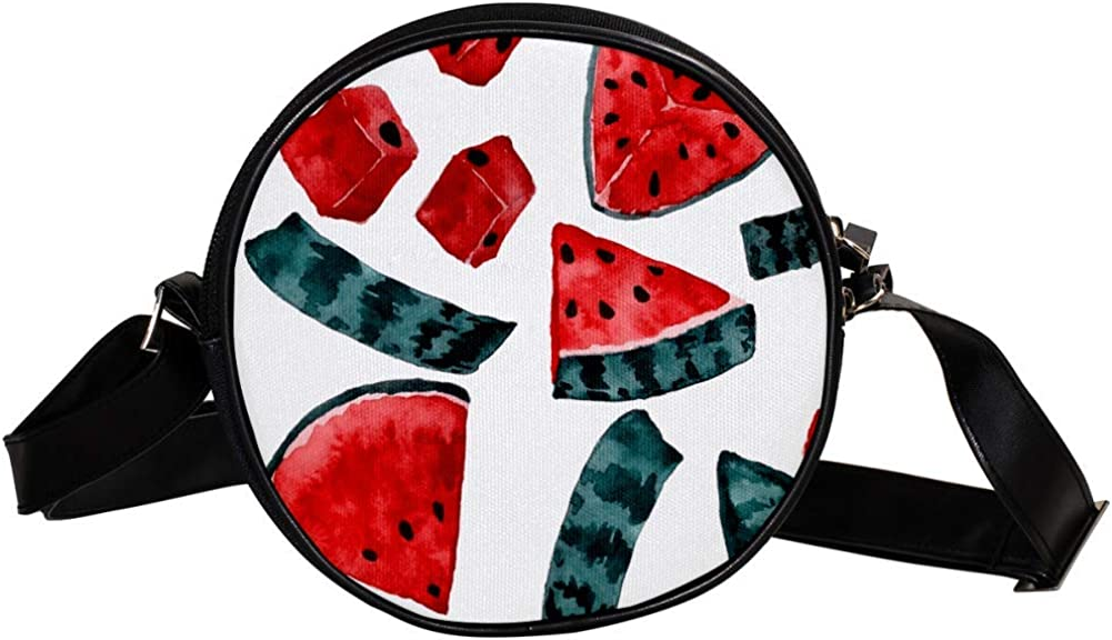 Coin Very popular Purse Max 54% OFF For Kids Watercolor Bag Crossbody Watermelon Mini Gir