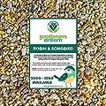 GardenersDream Robin & Songbird Mix | Nutritious Wild Bird Food for Garden Birds | Free of Husks & Germinating Seeds | Premium Quality Source of Protein and Energy | Year-Round Feed Mixture (7.5kg) from GardenersDream