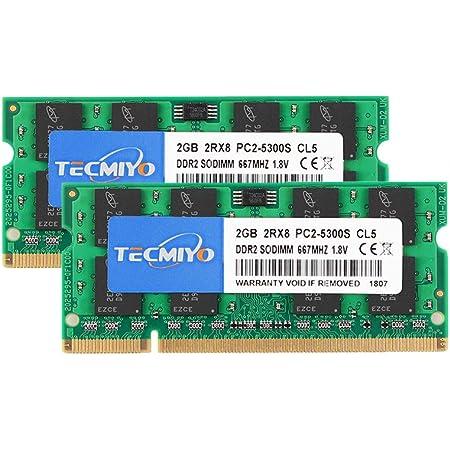 2GB DDR2-667 PPM70U-0SH01H PC2-5300 RAM Memory Upgrade for The Toshiba Portege M700