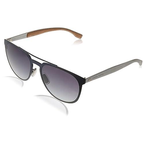c2efad4eb Boss Unisex-Adult's 0882/S HD Sunglasses, Mtblue Mtpld, ...