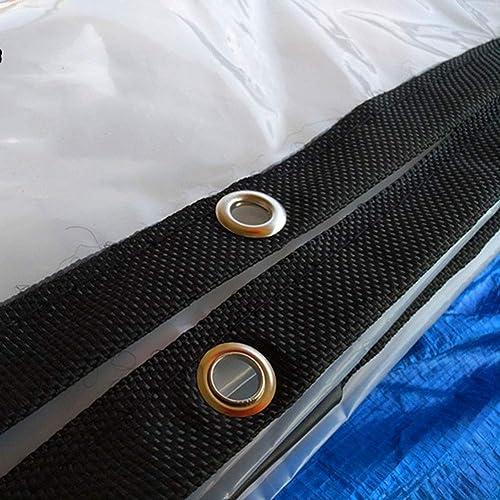 HCYTPL Bache Transparente de Tente de remorque de Camping de Couverture de Pluie de Toit de Bateau de Voiture antipoussière résistante à la Pluie - 120G   M2,5  5m