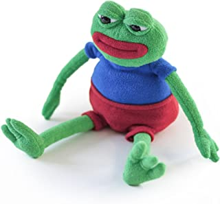 Hashtag Collectibles Pepe The Frog - The Official Plush Doll (Anatomically Correct)