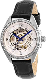 Invicta Objet D Art Automatic Crystal White Dial Ladies Watch 26351
